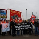 Picture of a demonstration by the Blacklist Support Group for Your Expert Witness story