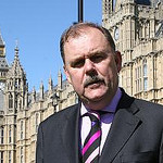 Elfyn Llwyd outside Parliament for Expert Witness family law story