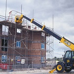 Picture of a JCB on a building site for Your Expert Witness story