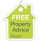 Expert Witness Free Property Advice sign