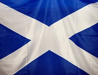 A Saltire to illustrate Scottish independence story in your Expert Witness
